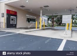 wells fargo bank drive thru atm usa stock photo royalty wells fargo drive thru bank located in central florida usa stock photo