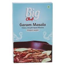 """<b>Смесь специй Big</b> chef """"Garam masala"""", для овощных блюд, 100 гр"""