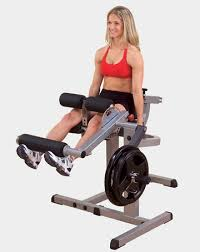 Сгибание-<b>разгибание ног Body</b> Solid GCEC-340 купить в ...