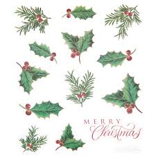 Christmas Holly Glitter Stickers | Hobby Lobby | 122218