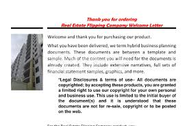 Real Estate House Flipping Business Plan Templatebusiness plans ws