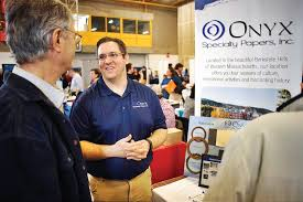 berkshire career fair looking for the right match the mike tullock the human resources manager at onyx specialty paper inc talks about