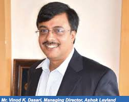 Things at Ashok Leyland are going as per plan, and the market response for the company products so far this year is quite encouraging. - amw