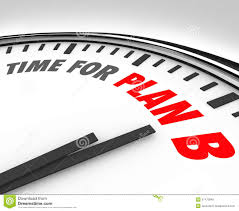 adapt vs fail words toggle switch success life career change stock time for plan b clock rethink planning problem issue royalty stock image