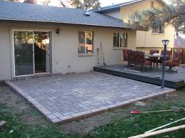 large pavers cement slabs