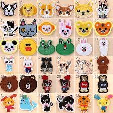 1/10PCS <b>Embroidered</b> Iron On <b>Patches</b> Animals Transfer Fabric   Etsy