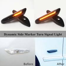 Online Shop <b>Dynamic Turn Signal</b> Light <b>LED</b> Side Fender Marker ...