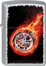 <b>Зажигалки Zippo</b> Z_205-<b>Tire</b>-On-Fire | alutech-sz.ru