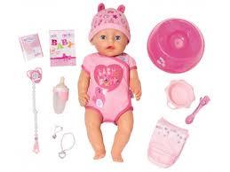 Купить <b>куклу Zapf Creation BABY</b> born, интерактивная, от 3 лет ...