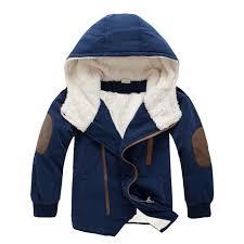 <b>Fashion Winter Thicken Warm</b> Cashmere Child Coat Windproof ...