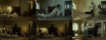and so it begins david fincher master of making the mundane cool when benjamin button and his long lost love daisy cate blanchett are finally the same age they decide to buy a duplex and spend their days lounging on