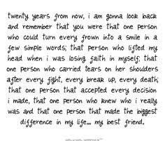 Awesome Friend Quotes on Pinterest | Missing Friends Quotes, Miss ... via Relatably.com