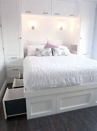 storage space for small bedrooms with white: small bedroom with queen size bed for pleasant design queen size bed for small bedroom ideas