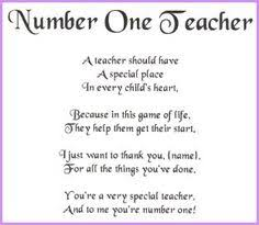 Teacher Poems on Pinterest | Kindergarten Teacher Quotes, Teacher ... via Relatably.com