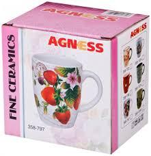 "<b>Кружка</b> ""<b>coffee</b>"" <b>300</b> мл. <b>Agness</b> (358-1324) по цене 182 RUB ..."