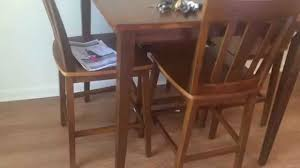 cherry counter height piece: walmart dining table assembly service in dc md va by furniture assembly experts youtube