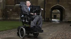 how does stephen hawking talk video