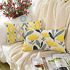 4 Pieces - Cushion Covers / Cushions & Cushion ... - Amazon.in
