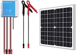 Newpowa 20W Watts 12V Mono Solar Panel ... - Amazon.com