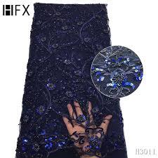 3D <b>Lace</b> Fabric French Farty <b>Sequin</b> Tissu Africain Handmade Bead ...