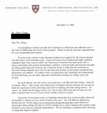 Yale acceptance letter The New York Times