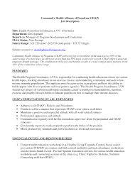 s coordinator resume s coordinator profile resume