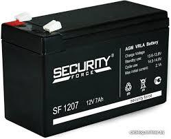 <b>Security Force</b> SF 1207 (12В/7 А·ч) <b>Аккумулятор</b> для ИБП купить в ...