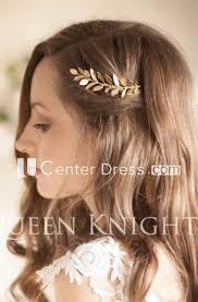 Vintage Western <b>Style Style</b> Golden Olive Leaf Hair Comb - UCenter ...