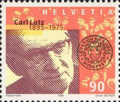 Emléktáblákat avattak Carl Lutz tiszteletére Budapesten