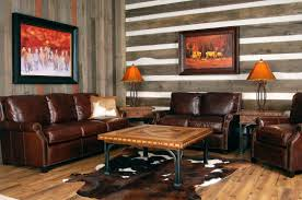 living room furniture miami: lamp brown leather sectional sofa features steel legs contemporary inside awesome contemporary interior