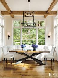 dining table interior design kitchen:  intricate tile flooring patterns luxedaily design insight from the editors of luxe interiors banquette diningmodern dining tabledining nookkitchen