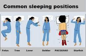 Sleeping positions - Imgur via Relatably.com