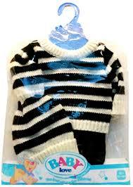 <b>Одежда для</b> кукол <b>Junfa Toys</b> Baby Love, 3 предмета BLC12
