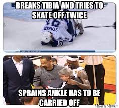 Hockey vs. Basketball.....Oh wait there is no competition....Long ... via Relatably.com