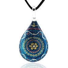 Chuvora Hand <b>Blown Venetian Murano Glass</b> Multi-Color <b>Flower</b> ...