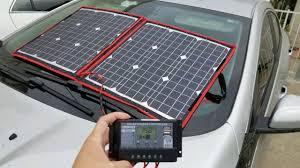 80 Watt Folding Solar Panel - <b>Dokio</b> - $100!! Quick Review - YouTube