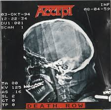 <b>Accept</b> - <b>Death Row</b> | Releases, Reviews, Credits | Discogs
