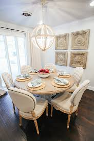 dining table homes room view full size round dining table cream french tufted dining chairs wo