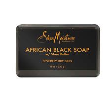 <b>SheaMoisture</b> Bar Soap <b>African Black</b> Soap, 8 oz - Walmart.com ...