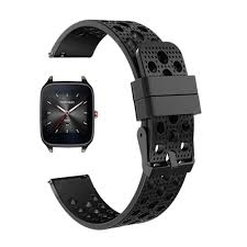 Silicone Replaceable Watch Band Wrist Strap for Asus ZenWatch 1 ...