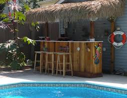 tiki outdoor patio bar