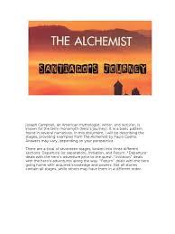 the alchemist santiago s journey hero santiago