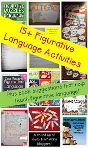best ideas about figurative language activity a great round up of figurative language activities for any students and they