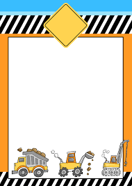 construction themed birthday party printables how to construction invitation printable