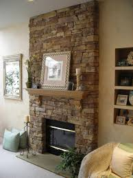 chic large wall decorations living room: ravishing living room decoration amazing natural exposed stone wall fireplace wall decor