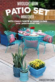 paint fixes diy patio furniture makeover