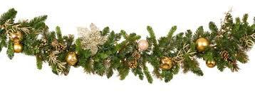 <b>Royal</b> Gold <b>Battery</b> Operated <b>LED Christmas</b> Garland, Warm White ...