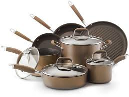 """<b>Набор кухонной</b> посуды из <b>11</b> предметов Anolon """"Эдванс ..."""