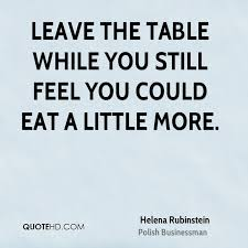 Helena Rubinstein Diet Quotes | QuoteHD via Relatably.com
