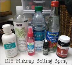 if you want it done right diy makeup setting spray toner recipe